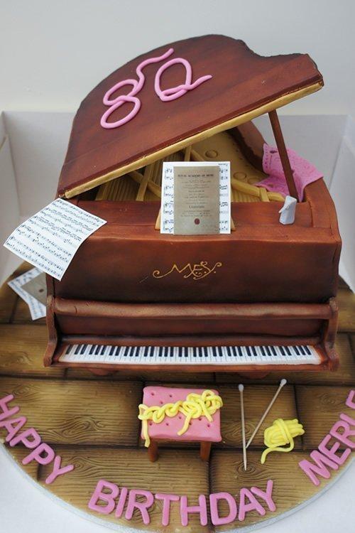 Celebration Cake Grand Piano
